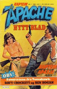 Cover Thumbnail for Apache (Semic, 1980 series) #1/1980