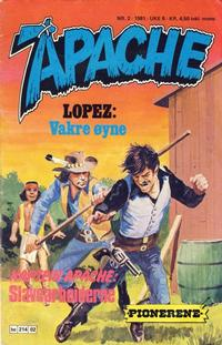 Cover Thumbnail for Apache (Semic, 1980 series) #2/1981