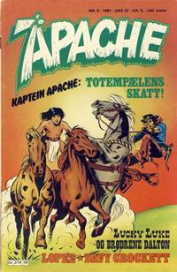 Cover Thumbnail for Apache (Semic, 1980 series) #9/1981