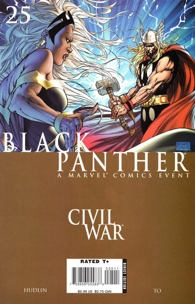 Cover for Black Panther (2005 series) #25