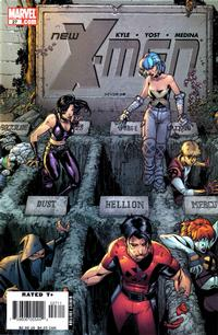 Cover Thumbnail for New X-Men (Marvel, 2004 series) #27