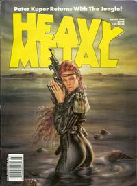 Cover for Heavy Metal Magazine (HM Communications, Inc., 1977 series) #v15#6 [v16#1]