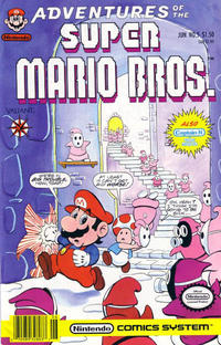 Cover Thumbnail for Adventures of the Super Mario Bros. (Acclaim / Valiant, 1990 series) #5