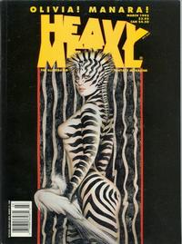 Cover Thumbnail for Heavy Metal Magazine (Metal Mammoth, Inc., 1992 series) #v19#1