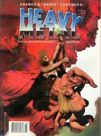 Cover for Heavy Metal Magazine (1992 series) #v20#1