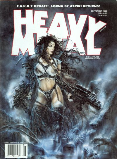 Cover for Heavy Metal Magazine (1992 series) #v22#4