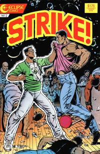 Cover Thumbnail for Strike! (Eclipse, 1987 series) #2
