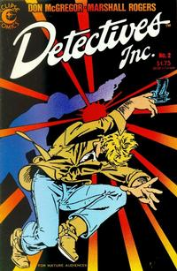 Cover Thumbnail for Detectives Inc. (Eclipse, 1985 series) #2