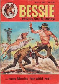 Cover Thumbnail for Bessie (Se-Bladene, 1969 series) #2/1969
