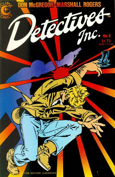 Cover for Detectives Inc. (1985 series) #2