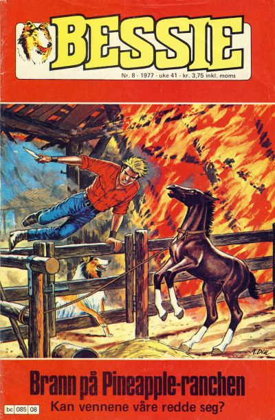 Cover for Bessie (Semic, 1977 series) #8/1977