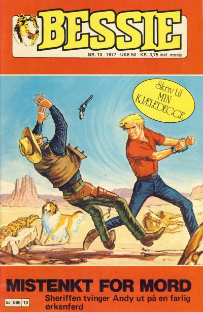 Cover for Bessie (Semic, 1977 series) #10/1977