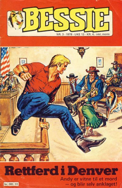 Cover for Bessie (Semic, 1977 series) #3/1978
