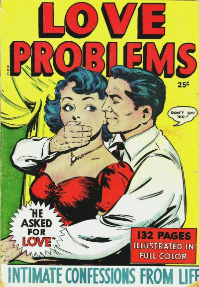 Cover for Love Problems (Fox, 1949 series)