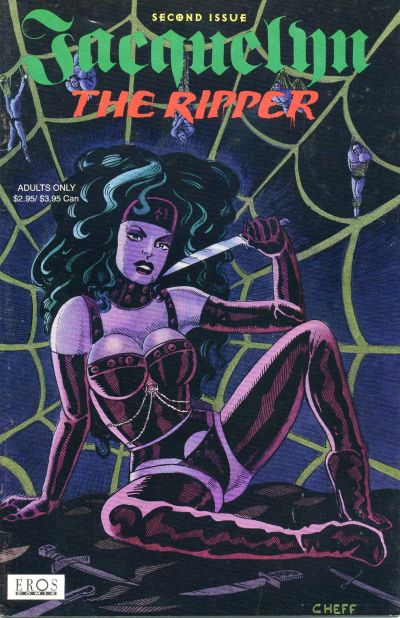 Cover for Jacquelyn the Ripper (1994 series) #2