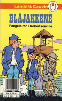Cover Thumbnail for Blåjakkene [Semic Tegneseriepocket] (Semic, 1990 series) #1 - Fangeleiren i Robertsonville