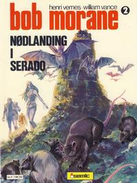 Cover Thumbnail for Bob Morane (Semic, 1979 series) #2 - Nødlanding i Serado