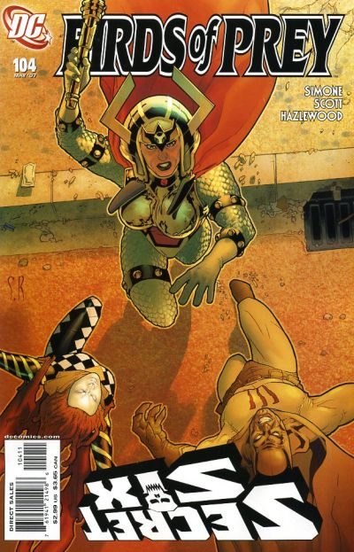 Cover for Birds of Prey (1999 series) #104