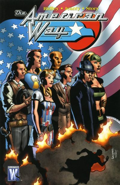 Cover for The American Way (DC, 2007 series)