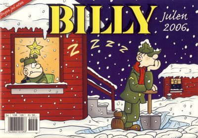 Cover for Billy julehefte (1997 series) #2006