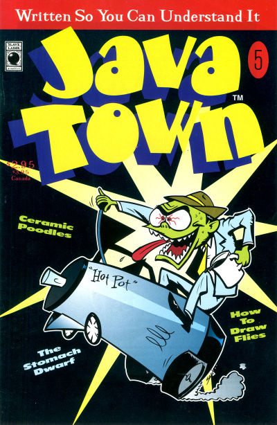 Cover for Java Town (Slave Labor, 1992 series) #5
