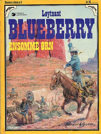 Cover for Blueberry (Hjemmet, 1977 series) #3 - Ensomme Ørn