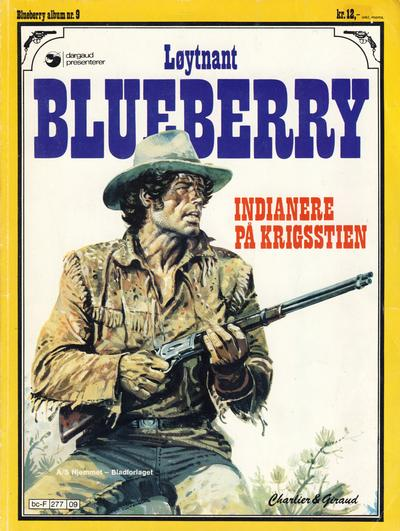 Cover for Blueberry (Hjemmet, 1977 series) #9 - Indianere på krigsstien