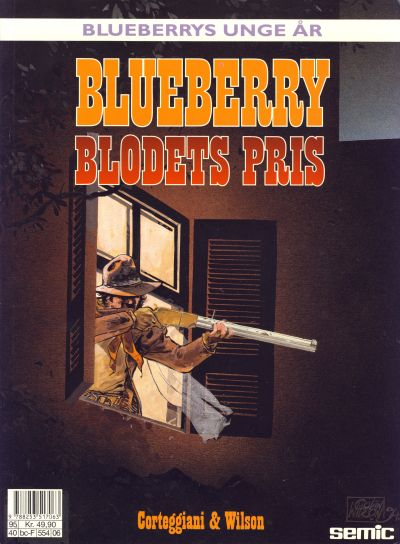 Cover for Blueberrys unge år (Semic, 1988 series) #6 - Blodets pris