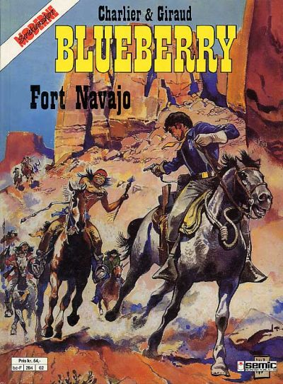 Cover for Blueberry (Semic, 1988 series) #1 - Fort Navajo