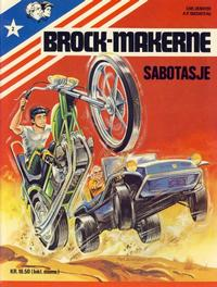 Cover for Brock-makerne (Winthers forlag, 1979 series) #2 - Sabotasje