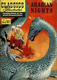 Cover Thumbnail for Classics Illustrated (Thorpe & Porter, 1951 series) #154 - Arabian Nights