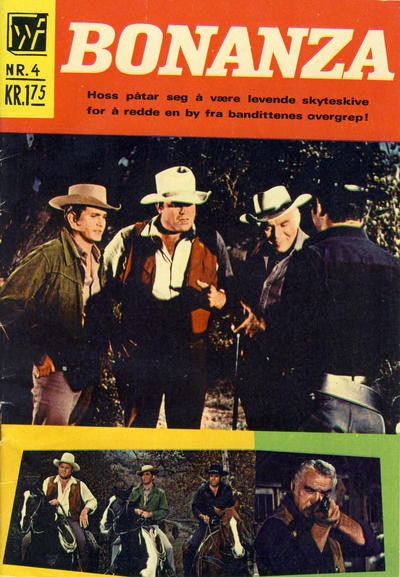 Cover for Bonanza (1969 series) #4