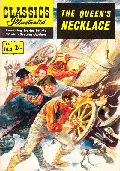 Cover for Classics Illustrated (1951 series) #144