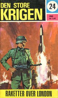 Cover Thumbnail for Den store krigen (Romanforlaget, 1967 series) #24