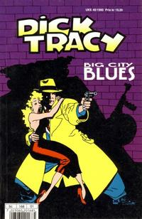 Cover for Dick Tracy Big City Blues (Hjemmet / Egmont, 1990 series)