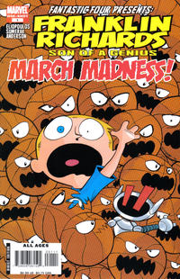 Cover Thumbnail for Franklin Richards: March Madness (Marvel, 2007 series) #1