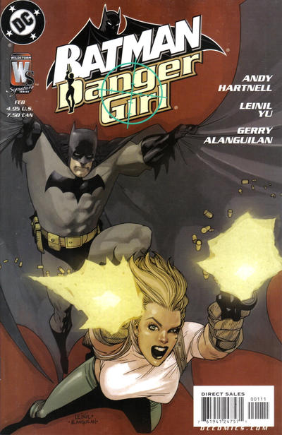 Cover for Batman / Danger Girl (2005 series) #1 [J. Scott Campbell Cover]