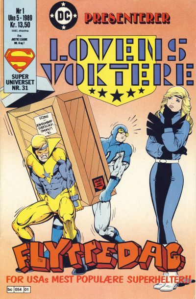 Cover for DC presenterer (Semic, 1988 series) #1/1989