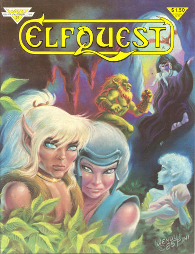 Cover for ElfQuest (1978 series) #21
