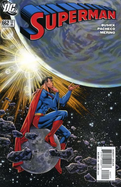 Cover for Superman (DC, 2006 series) #662