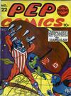 Cover for Pep Comics (Archie, 1940 series) #22
