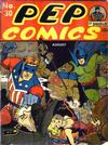 Cover for Pep Comics (Archie, 1940 series) #30