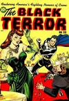 Cover for The Black Terror (Standard, 1942 series) #22