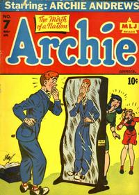 Cover Thumbnail for Archie Comics (Archie, 1942 series) #7