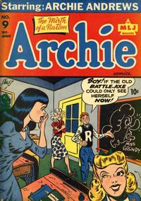 Cover Thumbnail for Archie Comics (Archie, 1942 series) #9