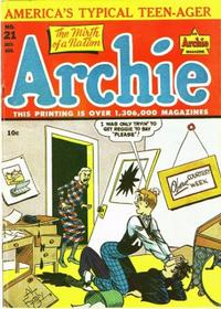 Cover Thumbnail for Archie Comics (Archie, 1942 series) #21