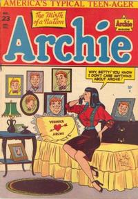 Cover Thumbnail for Archie Comics (Archie, 1942 series) #23