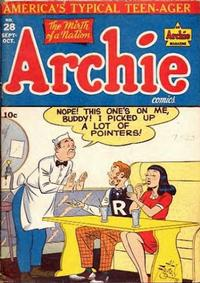 Cover Thumbnail for Archie Comics (Archie, 1942 series) #28