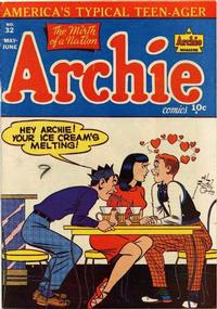Cover Thumbnail for Archie Comics (Archie, 1942 series) #32