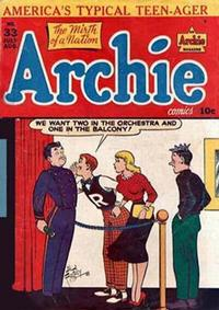 Cover Thumbnail for Archie Comics (Archie, 1942 series) #33